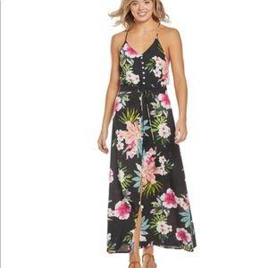 Rip Curl maxi floral dress